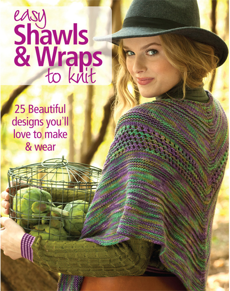 Easy Shawls & Wraps to Knit