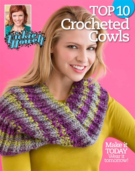 Vickie Howell Top 10 Crocheted Cowls