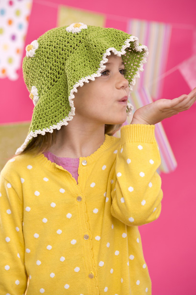 Vickie Howll Top 10 Crocheted Kids Hats