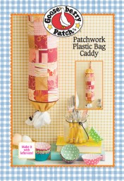 Gooseberry Patch Patchwork Plastic Bag Caddy