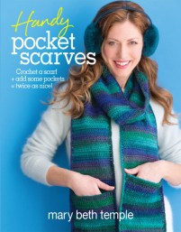 Handy Pocket Scarves to Crochet