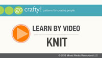 Learn by Video: Knitting